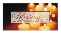 Promises Easled Magnet: Blessing May God Bless