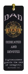Tassel Bookmark: D.A.D Dedicated and Devoted (Dad)