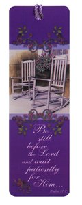Tassel Bookmark: Be Still Before the Lord