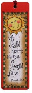 Tassel Bookmark: A Joyful Heart