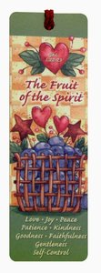 Tassel Bookmark: The Fruit of the Spirit