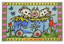 Poster Small: Free Hugs