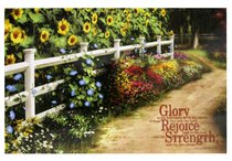 Poster Small: Glory Rejoice Strength