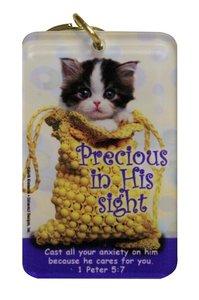 Acrylic Keyring: Precious in His Sight