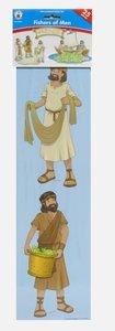 Mini Bulletin Boards: Fishers of Men (Matthew 4:19 Header)