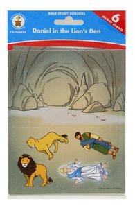 Bible Story Builders: Daniel in the Lions Den Stickers