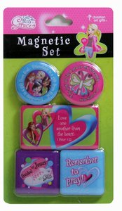 Magnetic Set: Remember to Pray (Little Miss Grace)