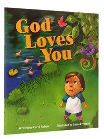 God Loves You - Mini Book