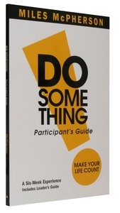 Do Something (Participants Guide)