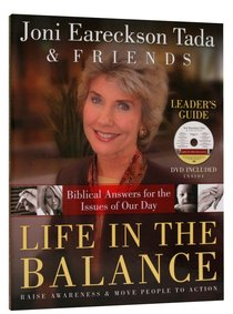 Life in the Balance (Leaders Guide With Dvd)