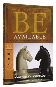 Be Available (Judges) (Be Series)