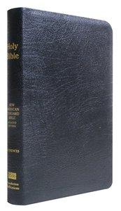 NASB Large Print Ultrathin Reference Bible Black