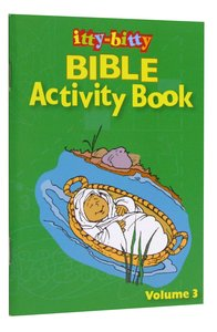 Activity Book (Volume 3) (#03 in Itty Bitty Bible Series)