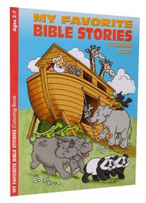 Colouring Book: My Favourite Bible Stories (Ages 2-7, Reproducible)