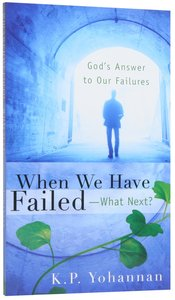 When We Have Failed - What Next?