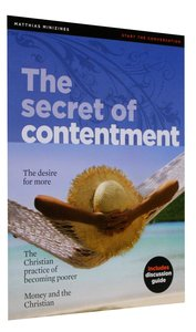 The Secret of Contentment (Matthias Minizines Series)