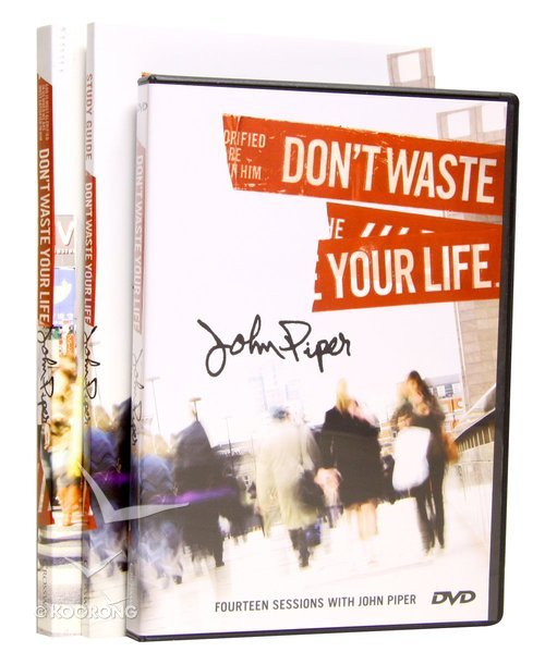 Buy Dont Waste Your Life Group Study Set By John Piper Online