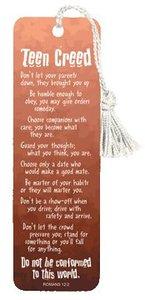 Tassel Bookmark: Teen Creed