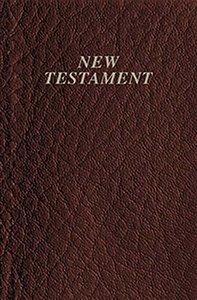 KJV Vest Pocket New Testament Burgundy (Red Letter Edition)