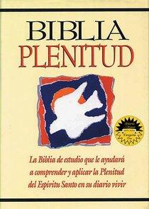 Rvr 1960 Biblia Plenitud Black (Red Letter Edition) (Spirit Filled Life Bible)
