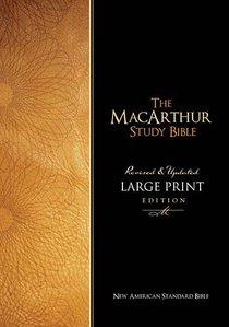 NASB Macarthur Study Thumb Indexed Large Print Black