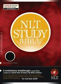 NLT Study Bible Black