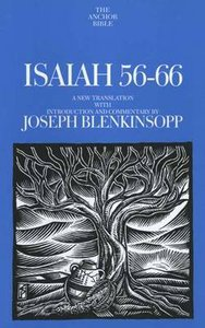 Isaiah 56-66 (Anchor Yale Bible Commentaries Series)