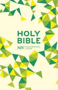 NIV Thinline Bible Soft-Tone Lime