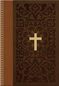 KJV Compact Large Print Ancient Faith Design