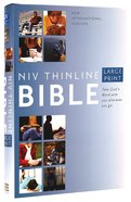 NIV Large Print Thinline Bible