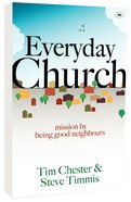 Everyday Church: Mission By Being Good Neighbours