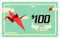 Koorong Gift Card $100.00
