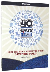 40 Days in the Word: Work Book