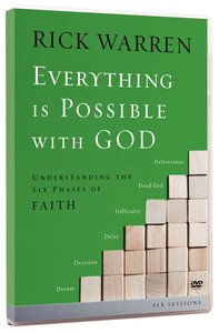 Everything is Possible With God (Dvd)