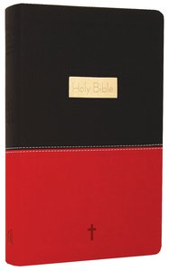 NKJV Personal Size Giant Print Reference Black/Red