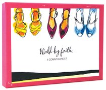 Boxed Notes: Walk By Faith, Psalm 37:23, 2 Corinthians 5:7