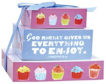 Tiered Memo Pad Set of 3: Sweet Gifts