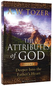 The Attributes of God (Vol 2 With Study Guide)