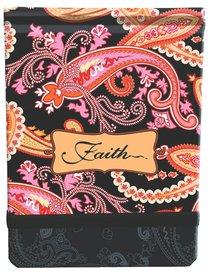 Notepad Fabric Printed: Faith