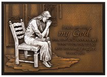 Small Moments of Faith Plaque Praying Woman