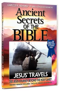 Ancient Secrets 3 #01: Jesus Travels (#01 in Ancient Secrets Of The Bible Dvd Series)