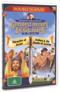 Miracle of Jesus/Joshua and the Battle of Jericho (Greatest Heroes & Legends Of The Bible Series)