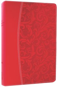 NIV Life Application Study Bible Honeysuckle Pink (Red Letter Edition)