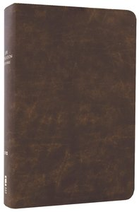 NIV Life Application Study Bible Distressed Brown (Red Letter Edition)