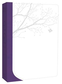 Gods Word God Girl Snow White/Deep Purple Tree Design