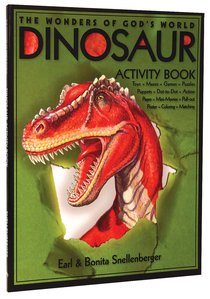 The Wonders of Gods World: Dinosaur Activity Book