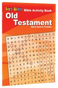 Activity Book Old Testament Word Search Puzzles (Itty Bitty Bible Series)