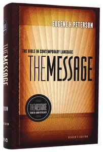 Message 10Th Anniversary Readers Edition (Black Letter Edition)