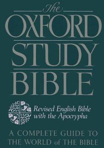 Reb Oxford Study With Apocraypha