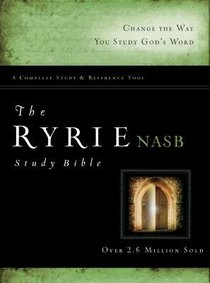 NASB Ryrie Study Bible (Red Letter Edition)